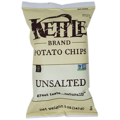 Kettle Brand Unsalted Potato Chips-5 oz. - Healthy Heart Market