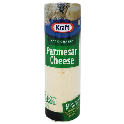 Kraft Grated Parmesan Cheese - 3oz. - Healthy Heart Market