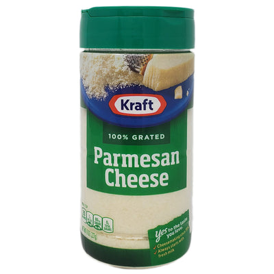Kraft Grated Parmesan Cheese - 8oz. - Healthy Heart Market