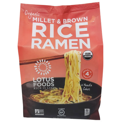 Lotus Foods No Sodium Organic Rice Ramen - 10oz