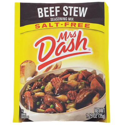 Mrs Dash Salt-Free Beef Stew Seasoning Mix- 1.25oz. - Healthy Heart Market