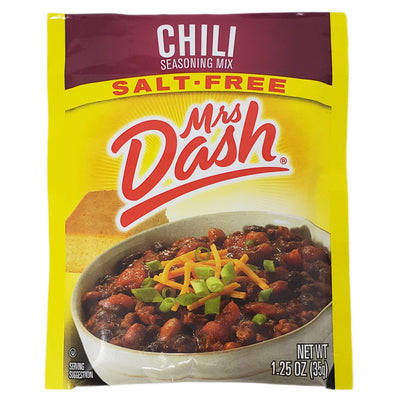 Mrs Dash Salt-Free Chili Seasoning Mix- 1.25oz. - Healthy Heart Market
