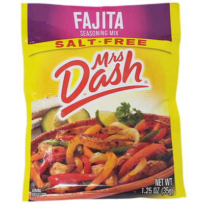 Mrs Dash Salt-Free Fajita Seasoning Mix- 1.25oz. - Healthy Heart Market