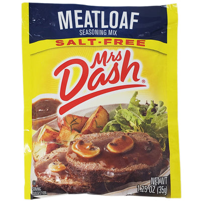 Mrs Dash Salt-Free Meatloaf Seasoning Mix- 1.25oz. - Healthy Heart Market