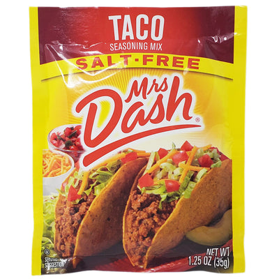 Mrs Dash Salt-Free Taco Seasoning Mix- 1.25oz. - Healthy Heart Market