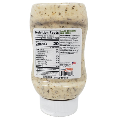 Mrs. Taste Zero Sodium Fine Herbs Salad Dressing - 10oz. - Healthy Heart Market
