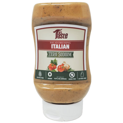 Mrs. Taste Zero Sodium Italian Salad Dressing - 10oz. - Healthy Heart Market