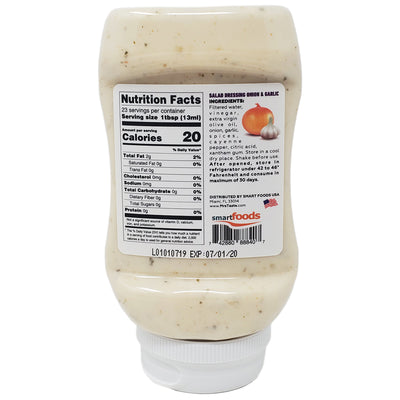 Mrs. Taste Zero Sodium Onion & Garlic Salad Dressing - 10oz. - Healthy Heart Market
