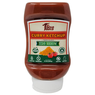 Mrs. Taste Zero Sodium Curry Ketchup - 12oz.