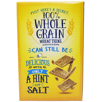 Wheat Thins Hint of Salt Crackers - 9.1oz. - Healthy Heart Market