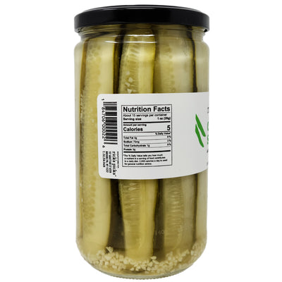 Rick's Picks Classic Sours Low Sodium Dill Pickle Spears - 24oz