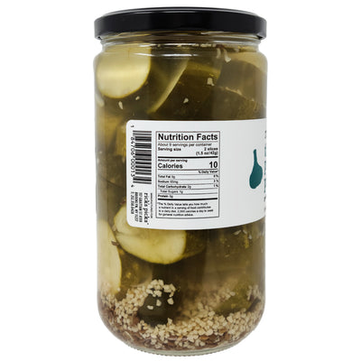 Rick's Picks The People's Pickle Low Sodium Crunchy Garlic Dill Pickles - 24oz