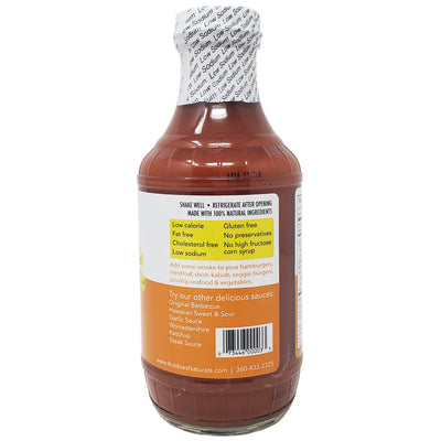 Robbie's Hickory Barbeque Sauce- 18oz - Healthy Heart Market