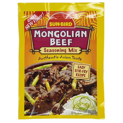Sun-Bird Mongolian Beef Sodium Free Seasoning Mix - 1oz. - Healthy Heart Market