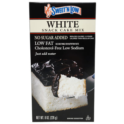 Sweet N' Low White Snack Cake Mix-8 oz.