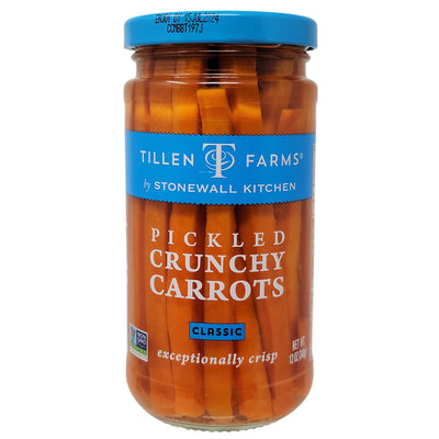 Tillen Farms Pickled Crunchy Carrots Low Sodium - 12oz
