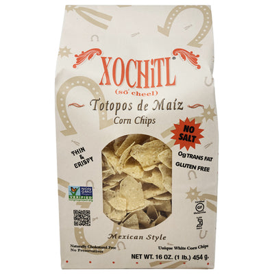 Xochitl Thin & Crispy Stone-ground Corn Chips-16 oz.