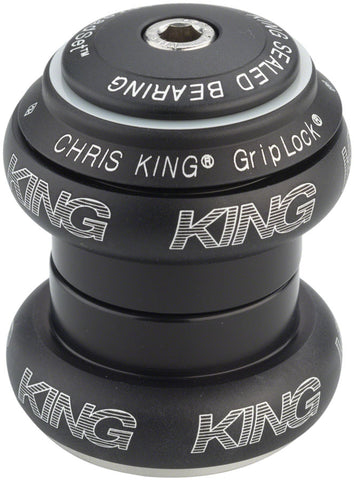 "Chris King NoThreadSet Headset, 1-1/8"" Jet Black"