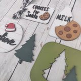 Cookies For Santa 5-Piece Tier Tray Bundle