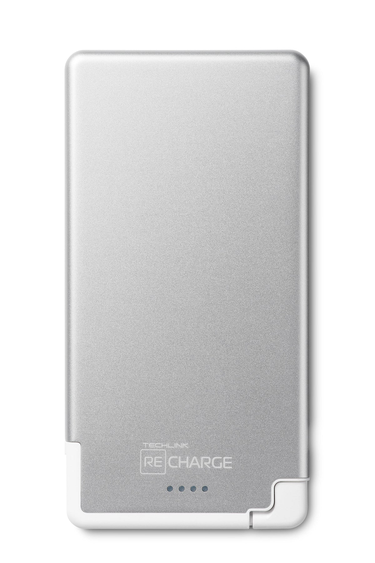 RECHARGE 5000 PB Ultra Thin Lighting - Silver / White