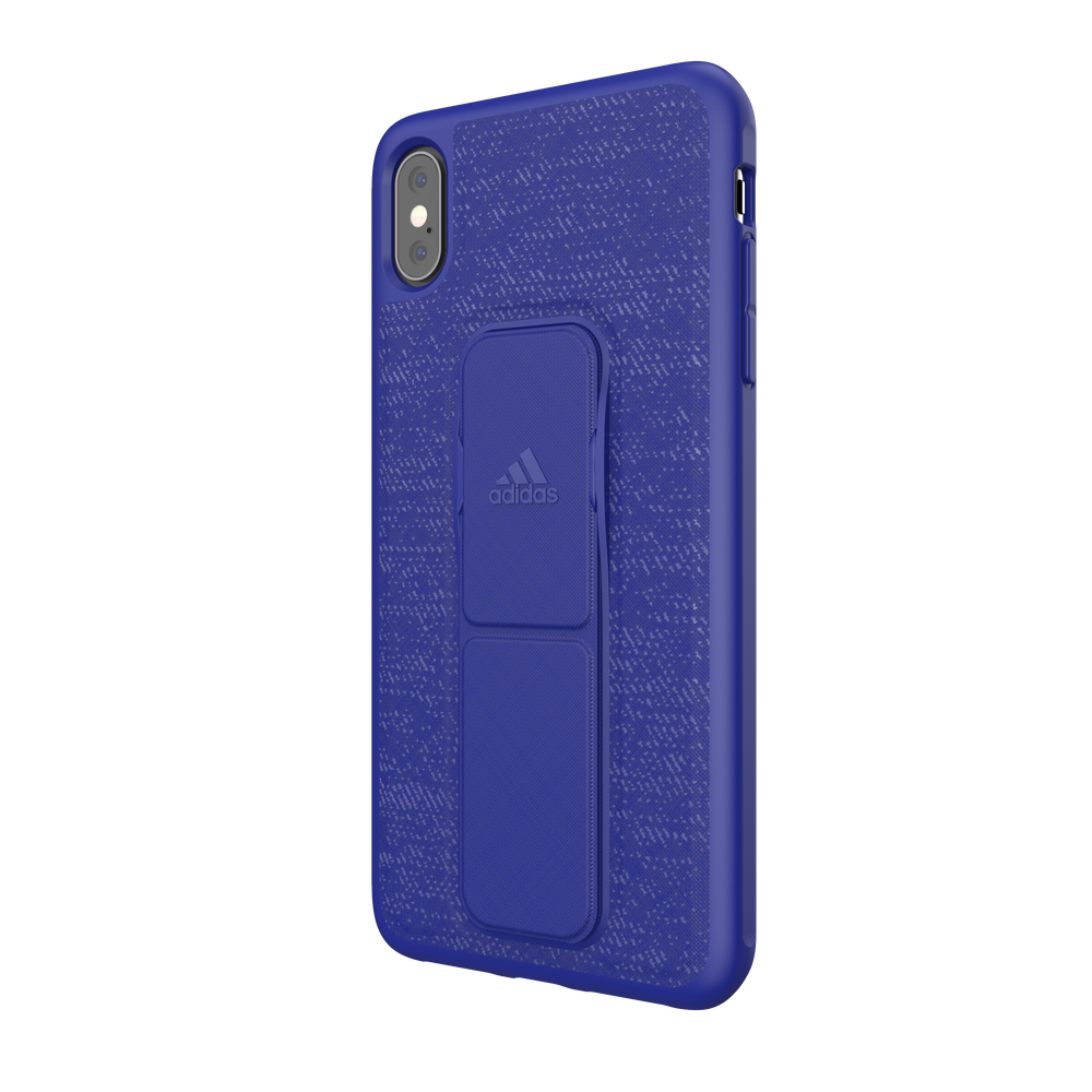 ADIDAS Grip Case for iPhone XS Max - Blue