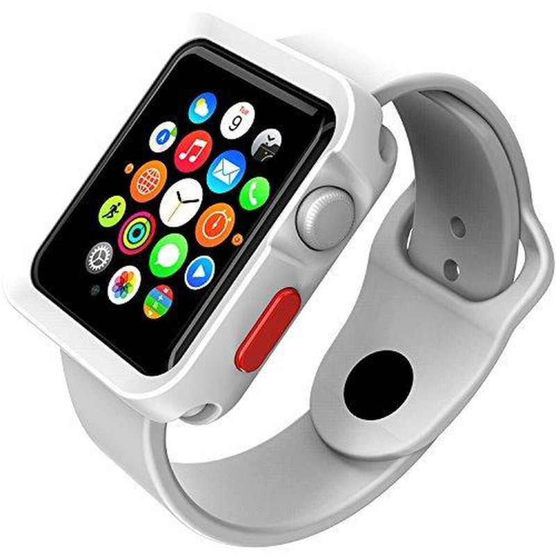 on sale 22b7f 7b555 SWITCH EASY TPU BUMPER FOR APPLE WATCH 38MM - WHITE