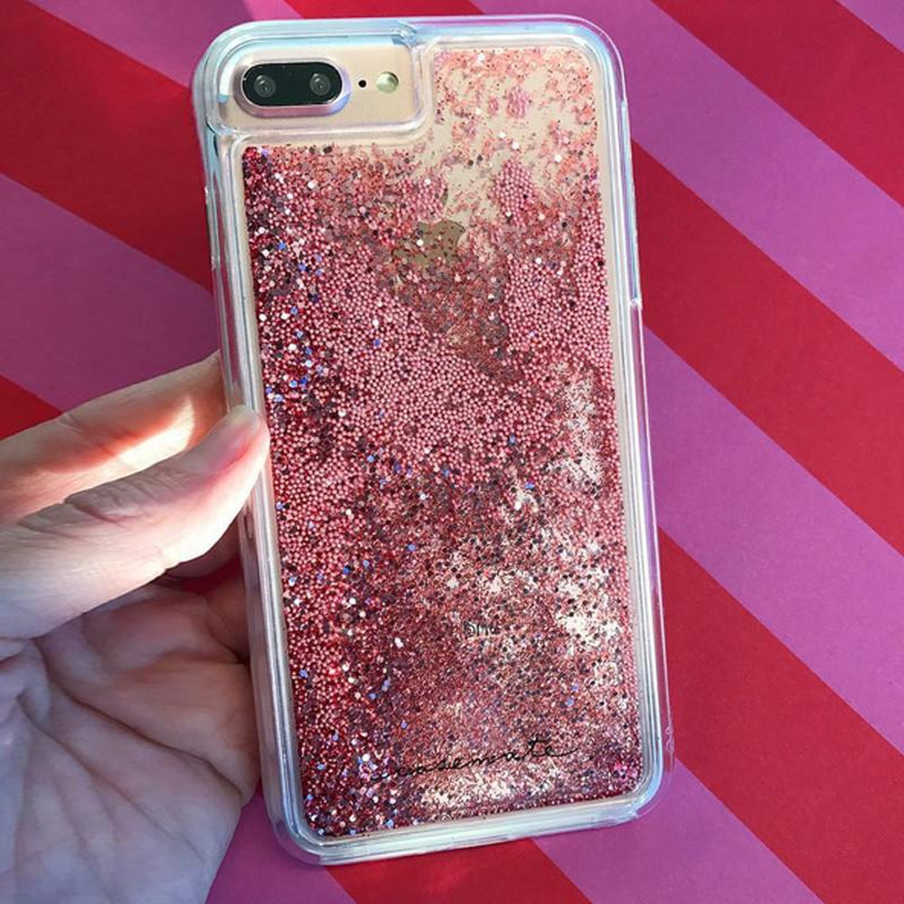 wholesale dealer a5944 b17d6 CASE-MATE Waterfall Case For iPhone 8 Plus / 7 Plus Rose Gold