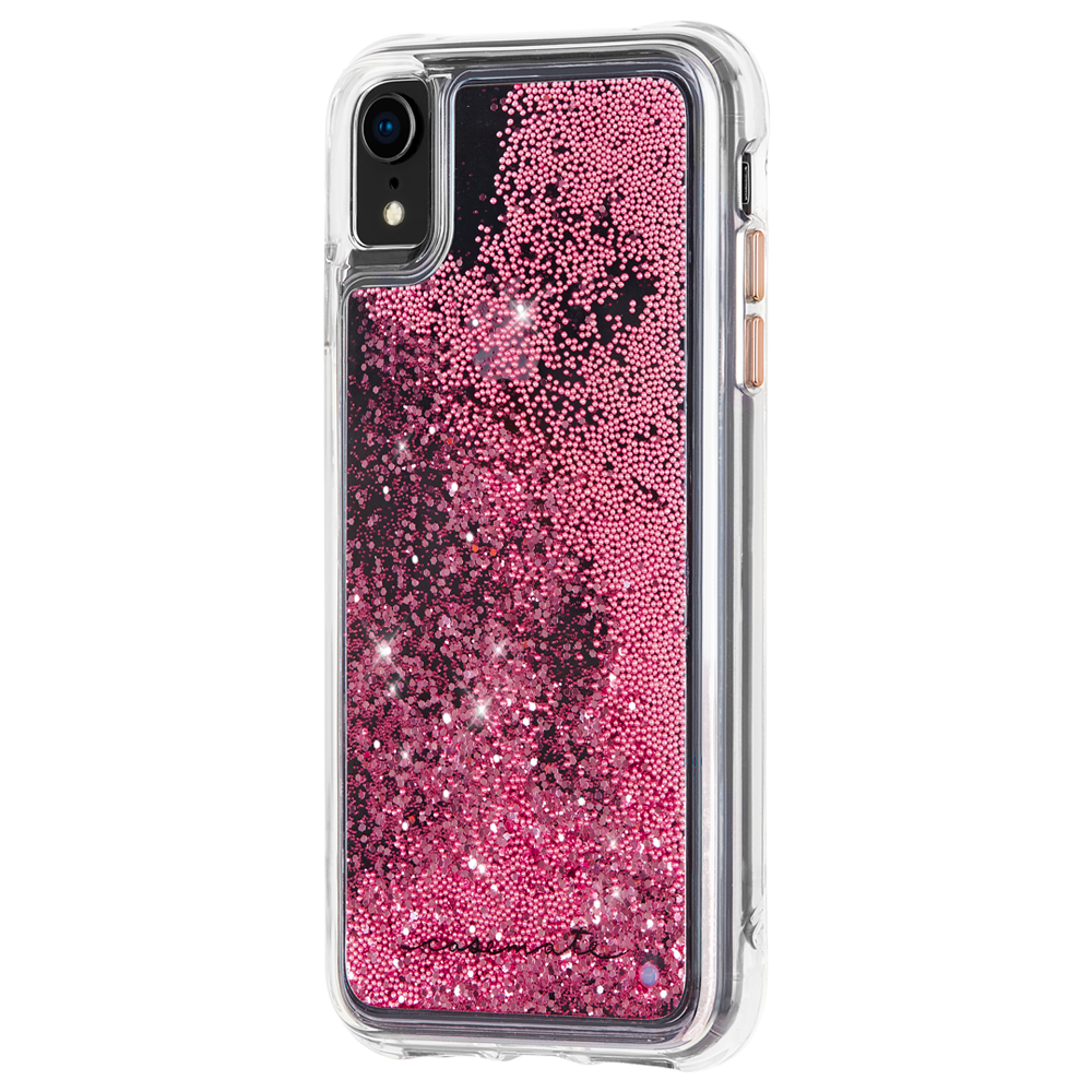 CASE-MATE Waterfall Case For iPhone XR - Rose Gold