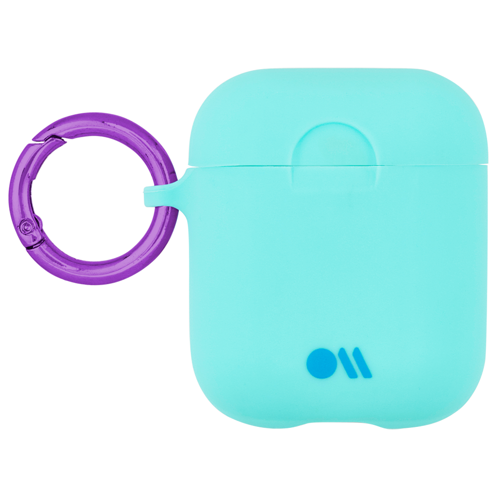 CASE-MATE AirPods Hook Ups Case & Neck Strap - Aqua Blue