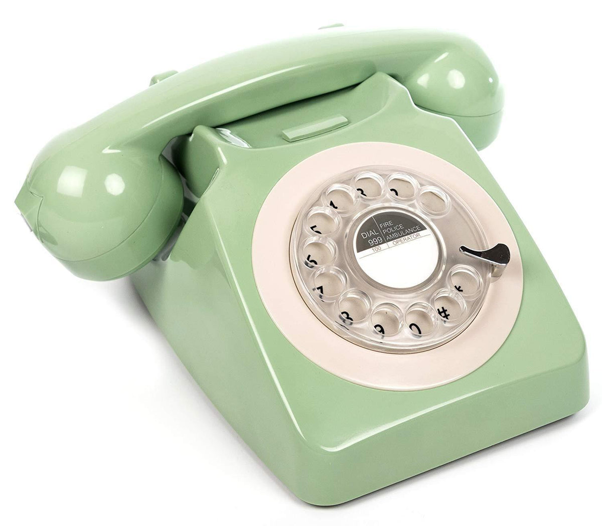 GPO 746 Rotary Hotel Phone Mint Green