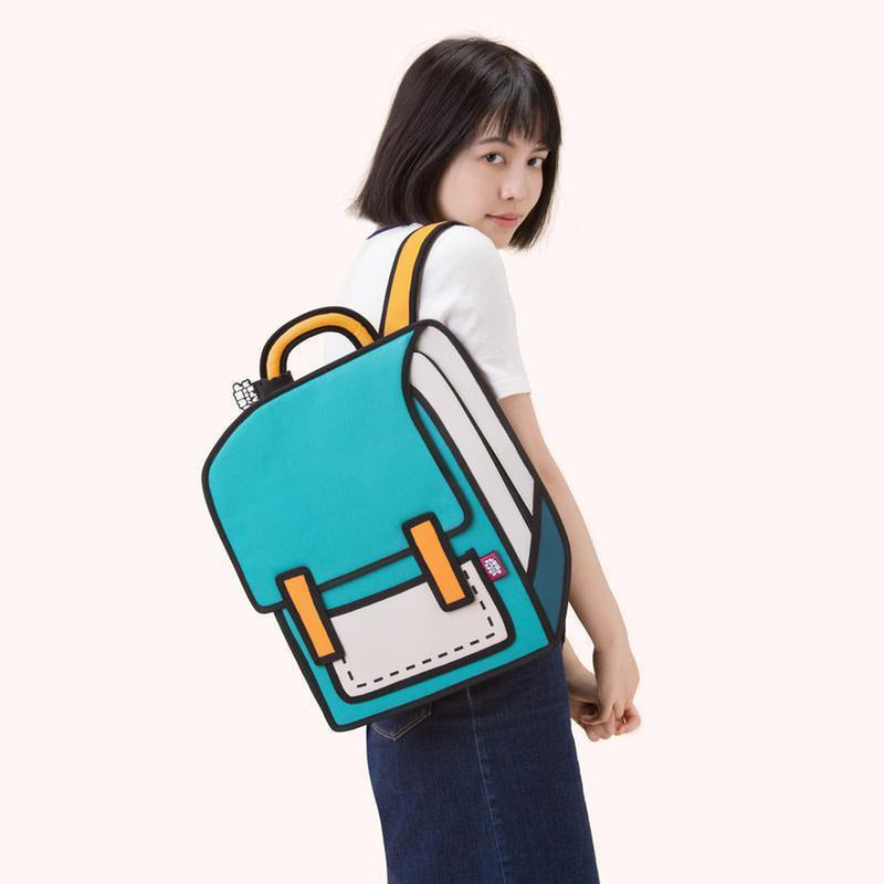 JUMP FROM PAPER Spaceman Backpack - Turquoise 13 inch 68f7ceac39