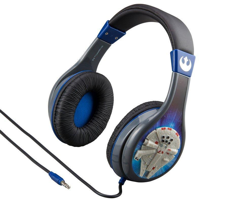iHOME Kiddesigns Over-Ear Headphone Volume Limited With 3 Settings Starwars  - DXB NET