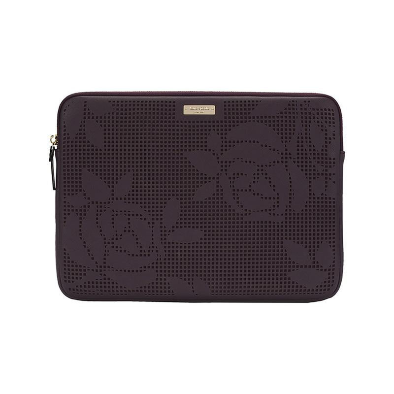 best website 5e239 3b545 KATE SPADE NEW YORK Perforated Sleeve for 13 Laptop Mahogany - DXB.NET