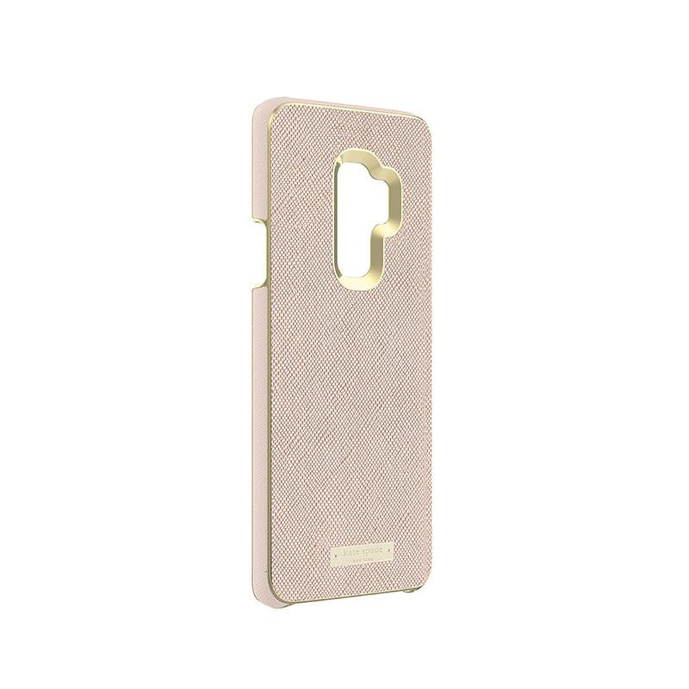 KATE SPADE NEW YORK Samsung Galaxy S9 Plus Wrap Inlay Case Rose Gold