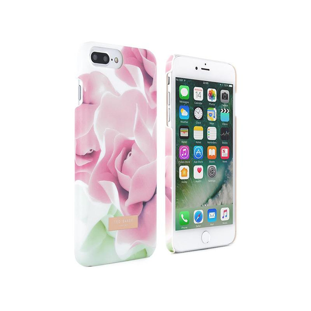 newest 7c627 df30e TED BAKER Shell Case Annotei Porcelain Nude for iPhone 8 Plus / 7 Plus