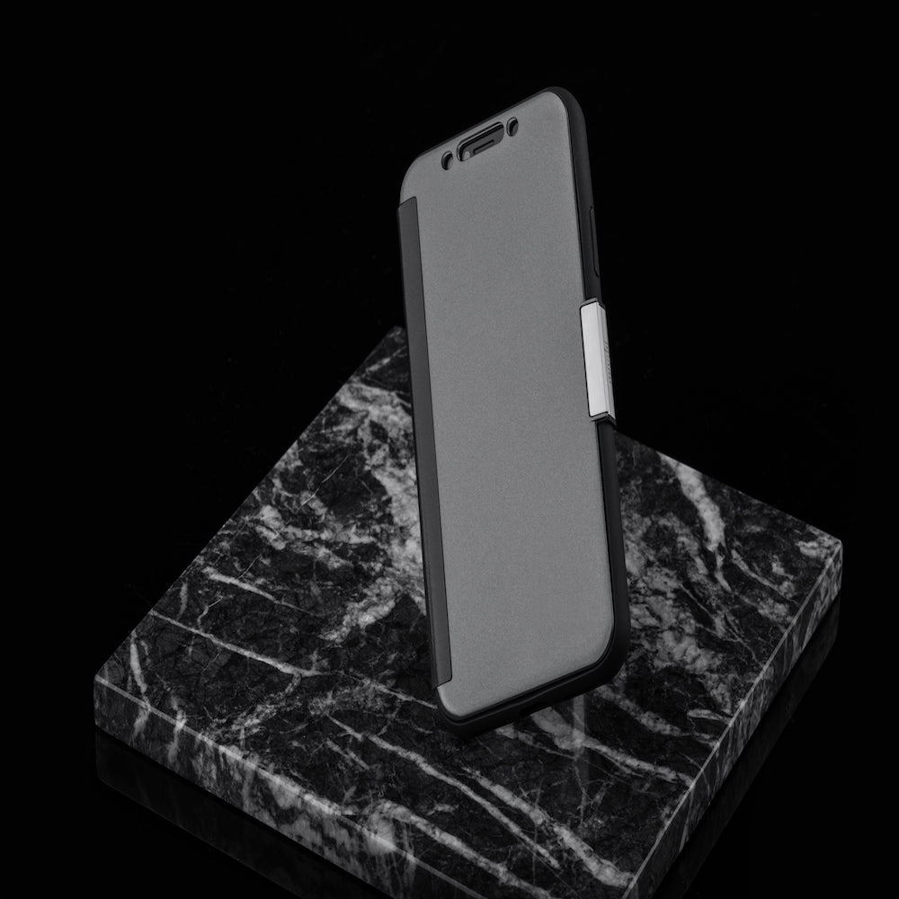 wholesale dealer 74092 11cb8 MOSHI Stealthcover Gunmetal Gray for iPhone XS/X