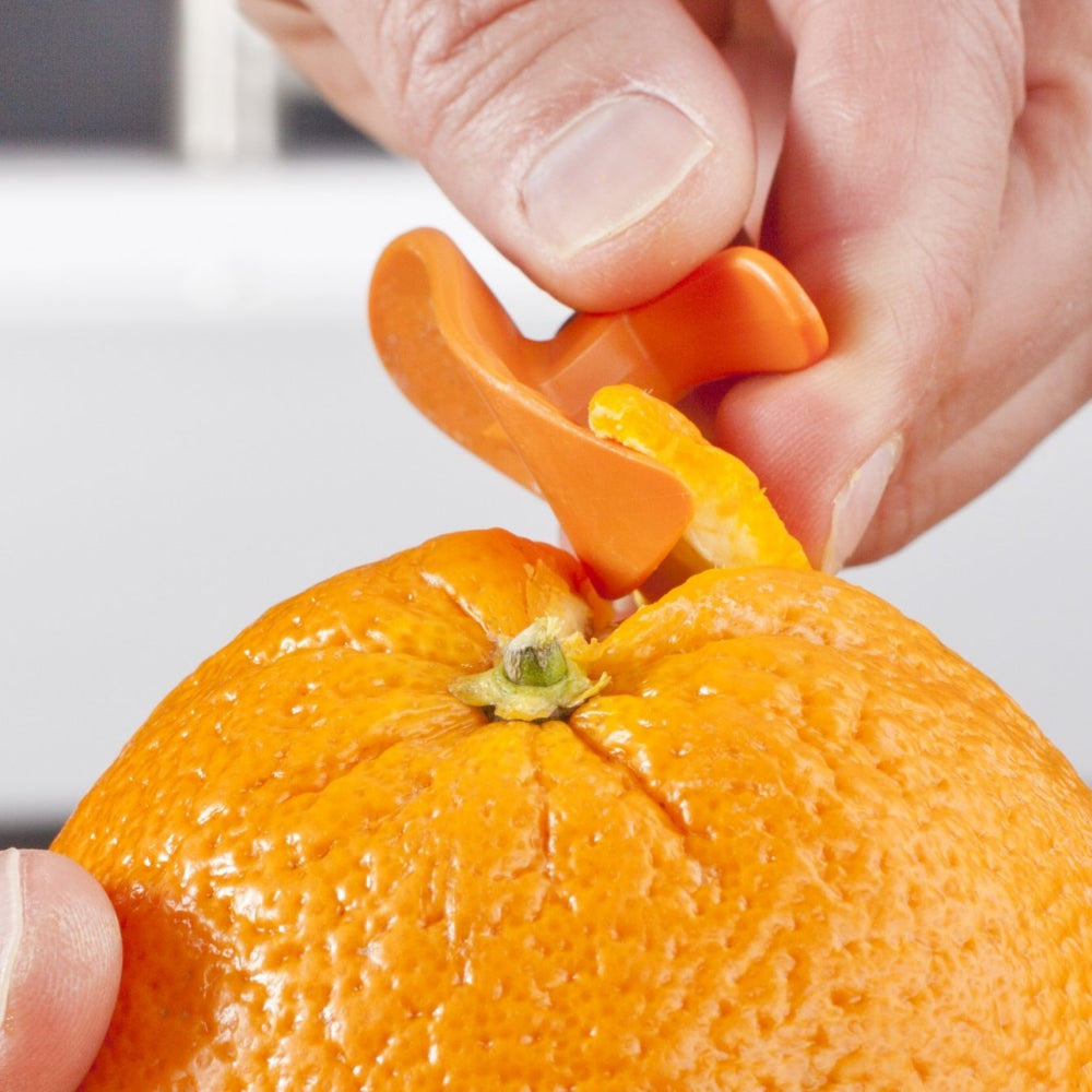 TOMORROW'S KITCHEN (Formerly Vacuvin) Citrus Peeler Orange