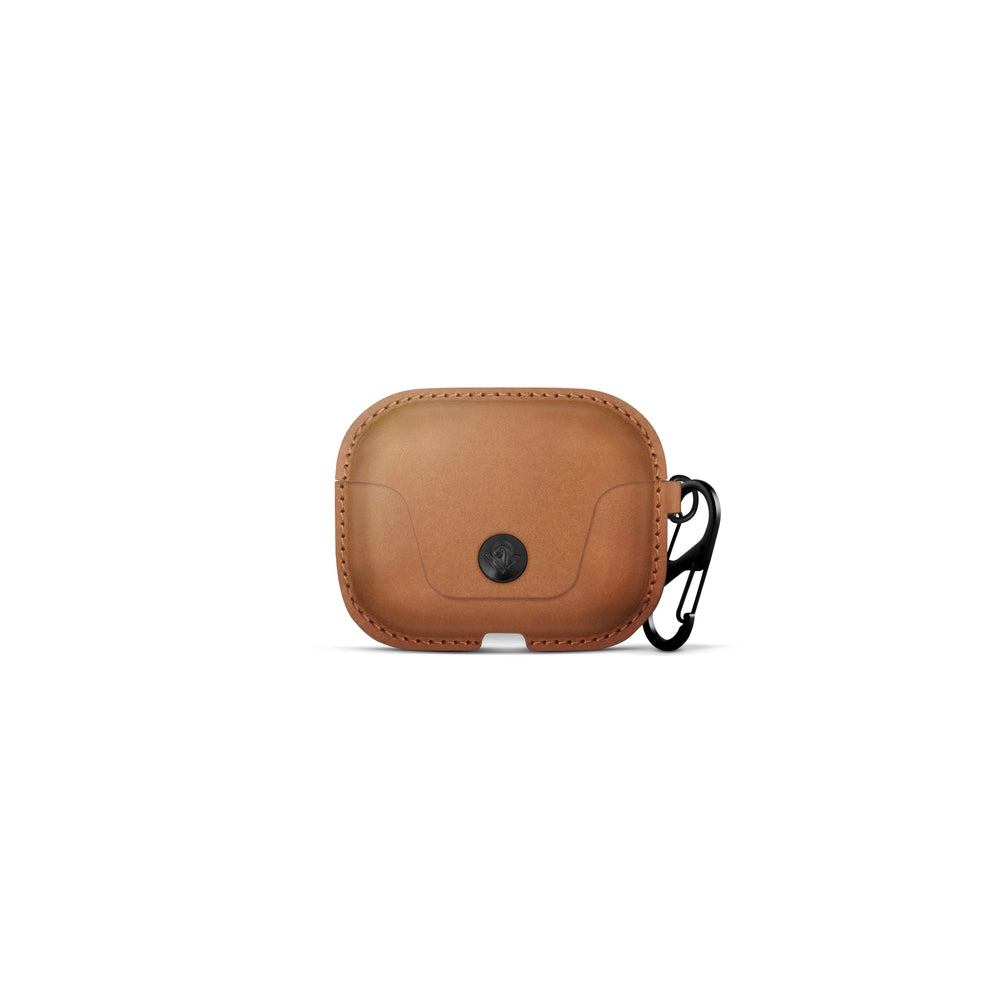 TWELVE SOUTH AirSnap Leather Protective Case for AirPods Pro - Cognac