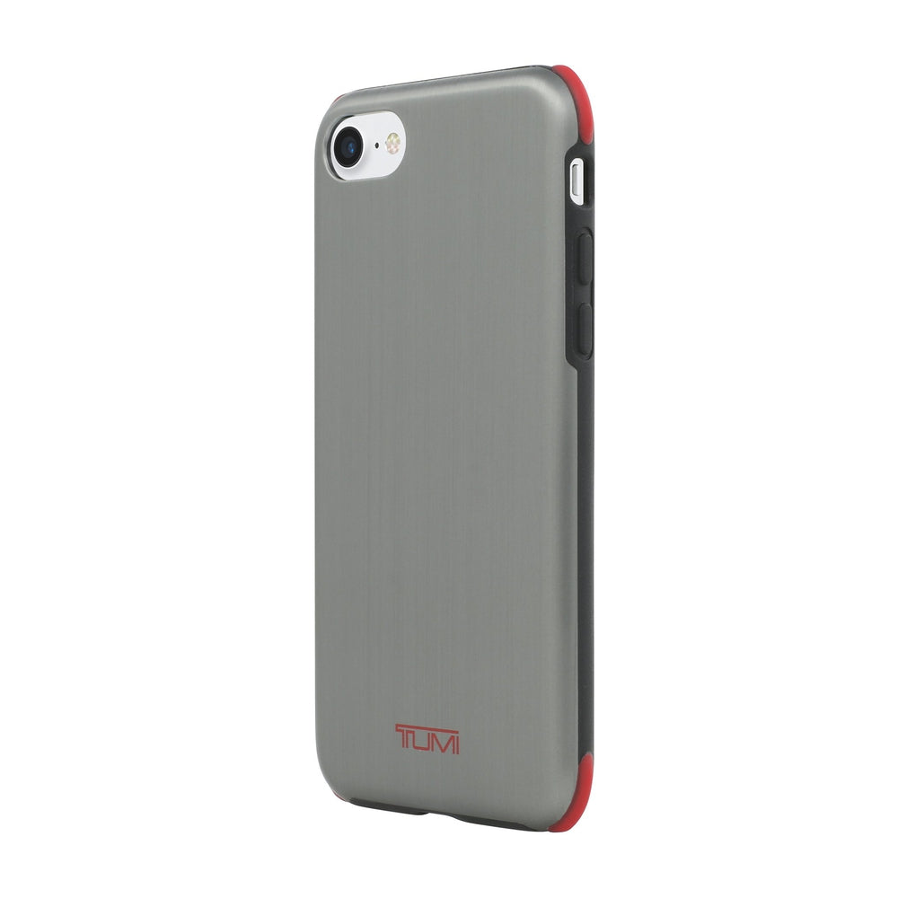 separation shoes 88cbe 518d7 TUMI Protection Case for iPhone 8 / 7 Gunmetal Gray Red