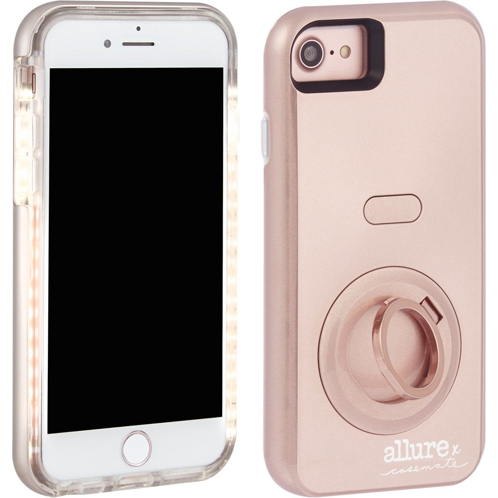 CASE-MATE Allure Selfie Case for iPhone 8/7/6s /6  Rose Gold