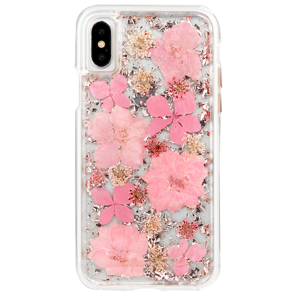 CASE-MATE Karat Petals Case for iPhone XS/X  Pink
