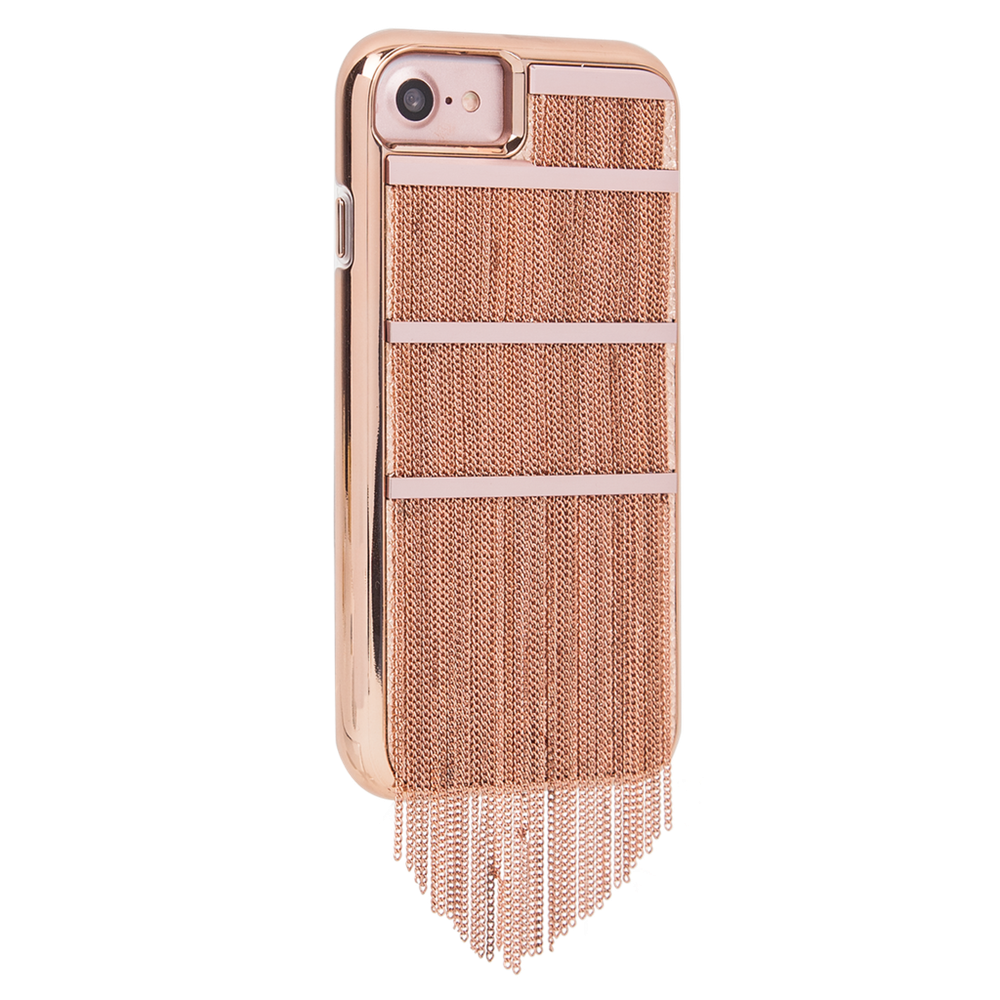CASE-MATE Fringed Metal For iPhone 8 / 7  Rose Gold
