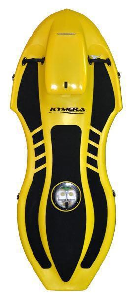 "Kymera 6'10""World's First Electric Body Board Yellow"