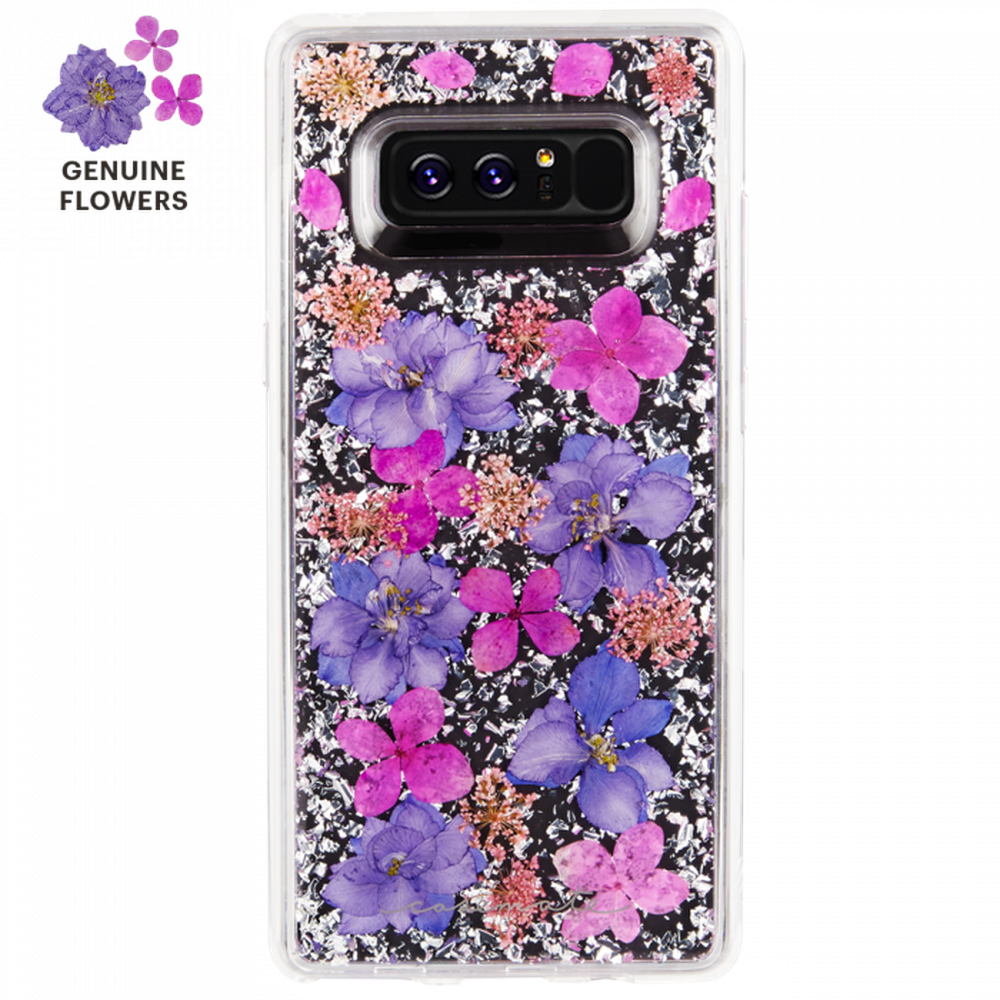 CASE-MATE Samsung Galaxy Note 8 Karat Petals  Purple