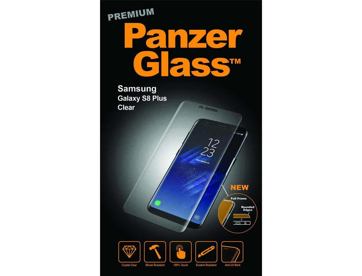 PANZERGLASS Premium Clear For Samsung S8 Plus