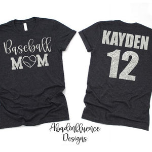 Baseball Mom Shirt - ABadInfluence