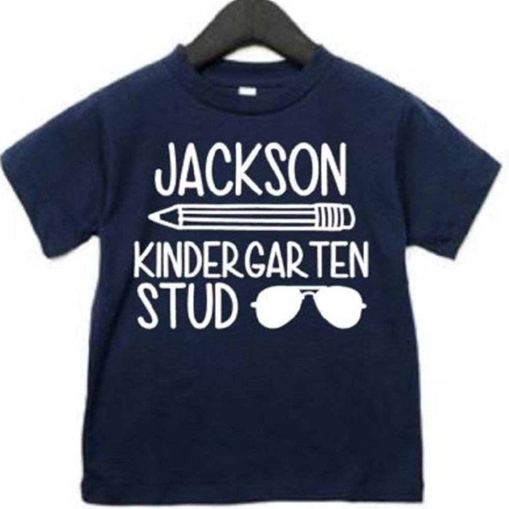Kindergarten Stud Shirt for Boys - ABadInfluence