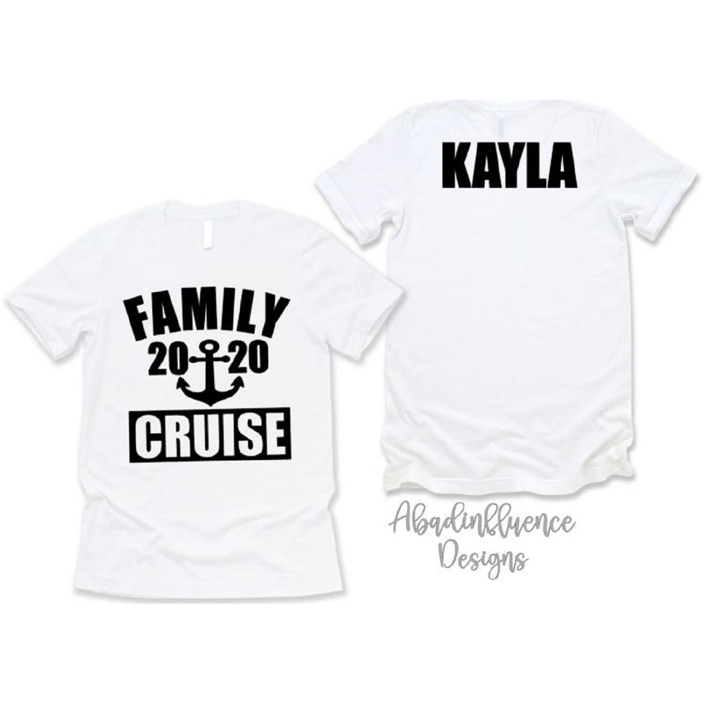 Family Cruise Shirts Personalized - ABadInfluence
