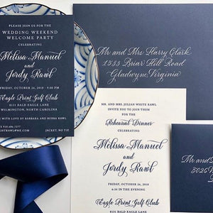 Let Cute Buttons Inspire You With Our Wedding Invitations