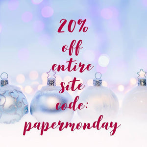 🛍️ Celebrate Cyber Monday With 20% Off Our Entire Website 🛍️